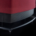Linn 530-black-grill-and-stand-close,-claret-cover