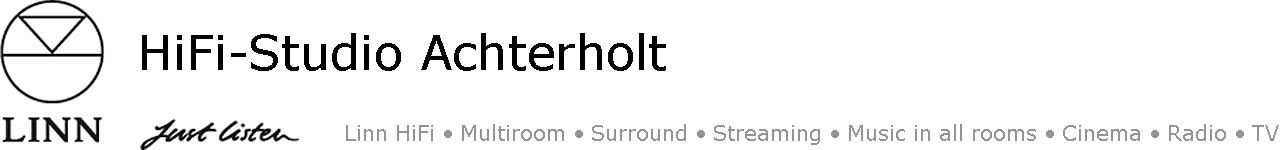 HiFi-Studio Achterholt