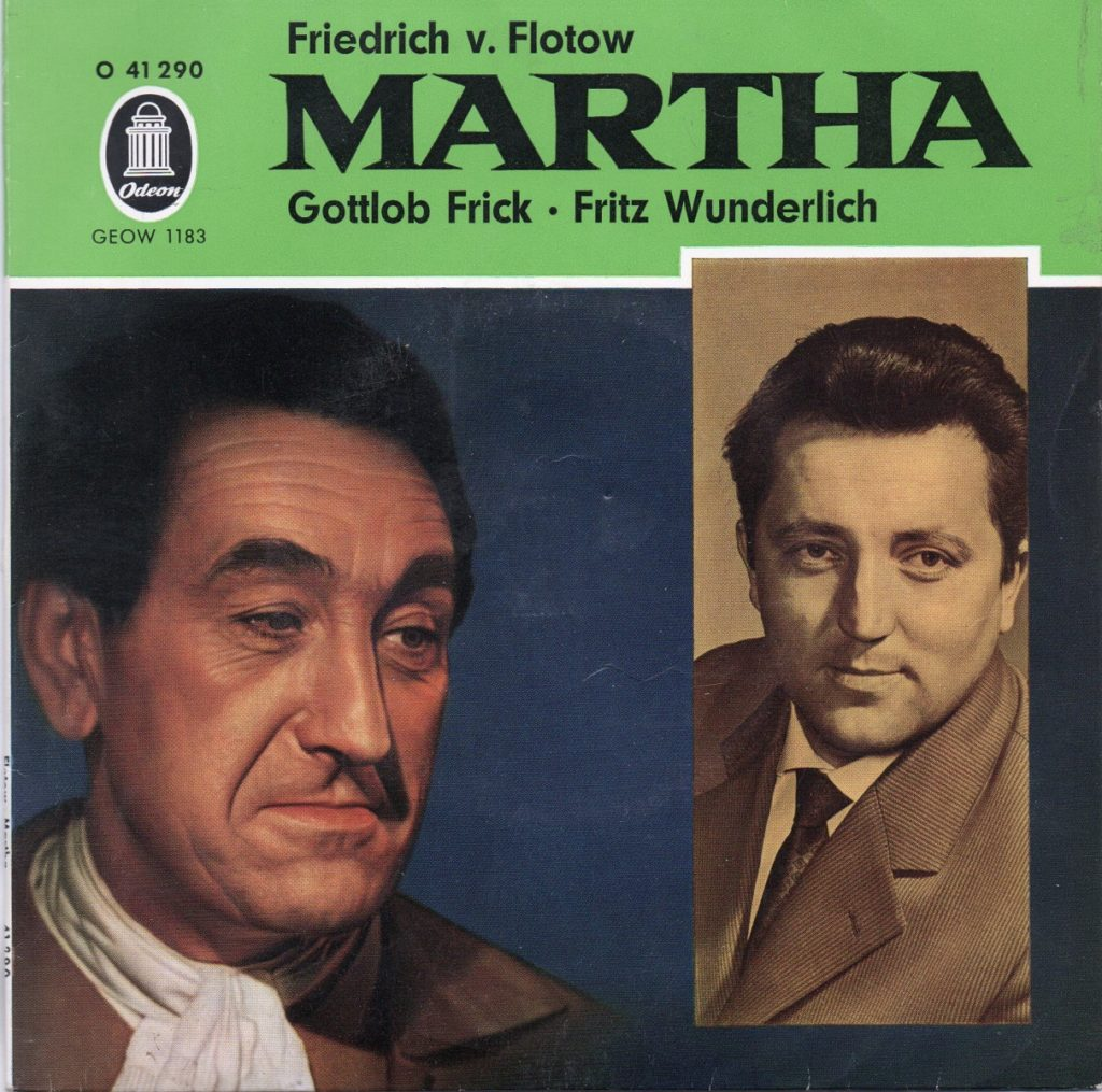 Cover: Martha - Fritz Wunderlich